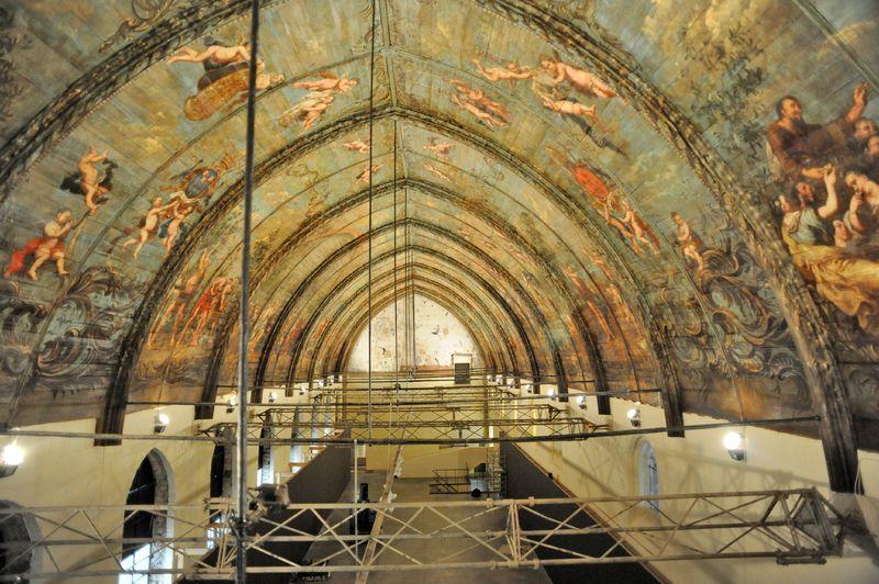 Restauratiewerken Sint-Pietersabdij 07