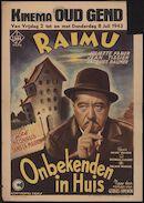 Raimu | Les inconnus dans la maison | Onbekenden in huis, Kinema Oud Gend, Gent, 2 - 8 juli 1943