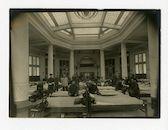 Gent: Citadelpark: Feestpaleis: Genesungsabteilung (revalidatieafdeling): slaapzaal, 1915-1916
