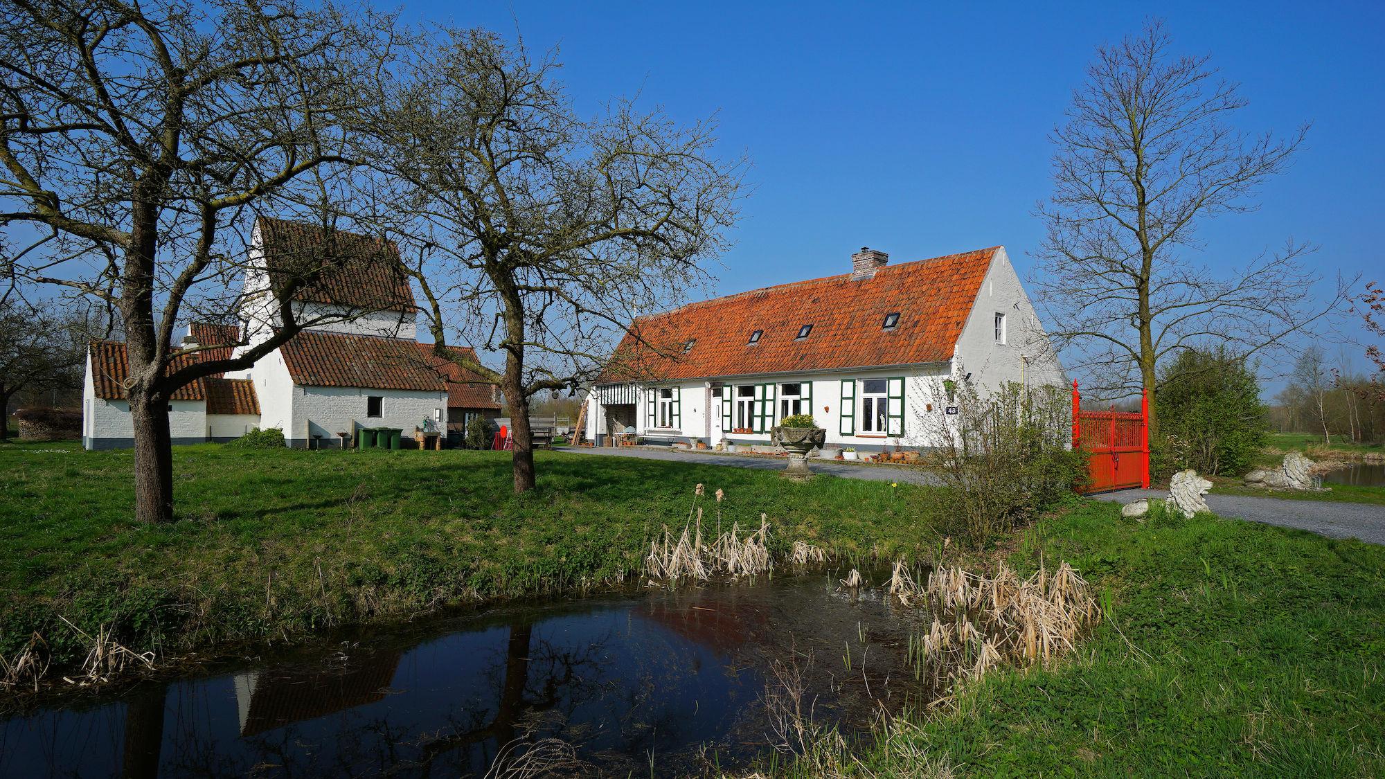 Omwalde hoeve Rijckhof of Oostgavere