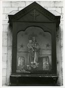 Gent: Ham 106: gevelkapel: Maria met Kind, 1980