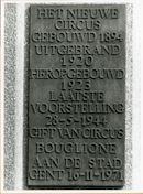 Gent: Lamstraat 13: Gedenkplaat, 1979