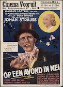 Op een avond in mei (film 1) , Le coeur ébloui | Bekoorde harten (film 2), Cinema Vooruit, Gent, 19 - 25 mei 1938