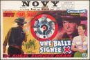 Une Balle Signee X | De kogel zonder naam | No Name on the Bullet , Novy, Gent, 10 - 16 juni 1960