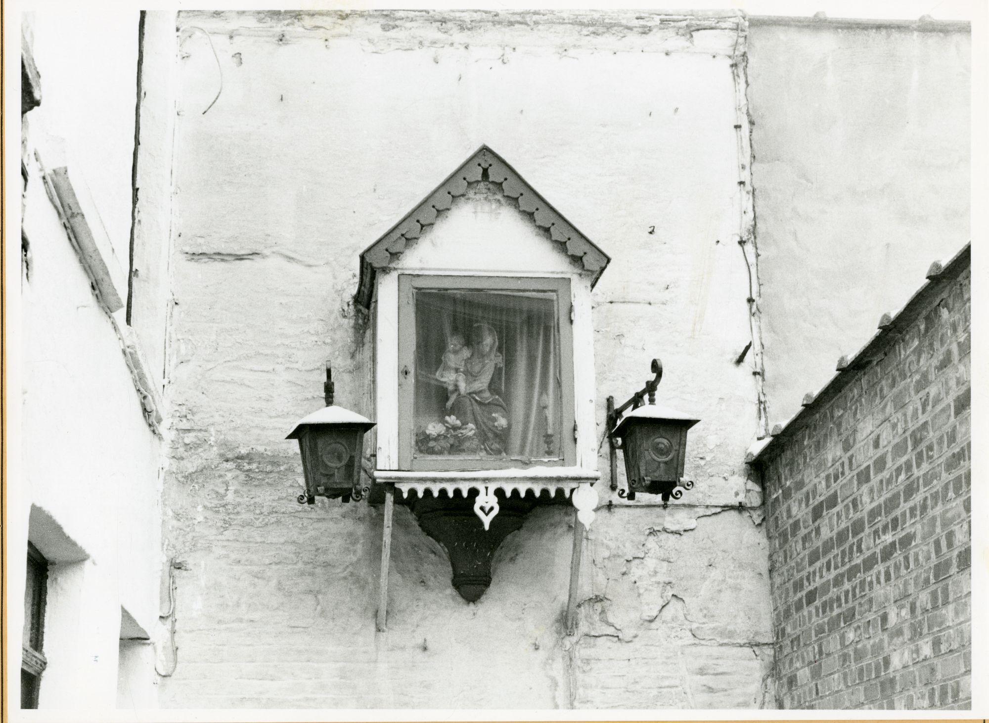 Gent: Koolsteeg: Gevelkapel, 1979