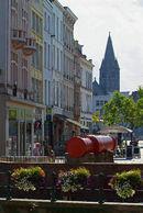 zicht op Grootkanonplein - Vrijdagmarkt