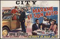 Madame et son auto | Mevrouw en haar auto, City, Gent, 27 maart - 2 april 1959