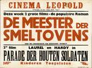 De Meester der Smeltovens   Parade der Houten Soldaten, Cinema Leopold, Gent, 1949
