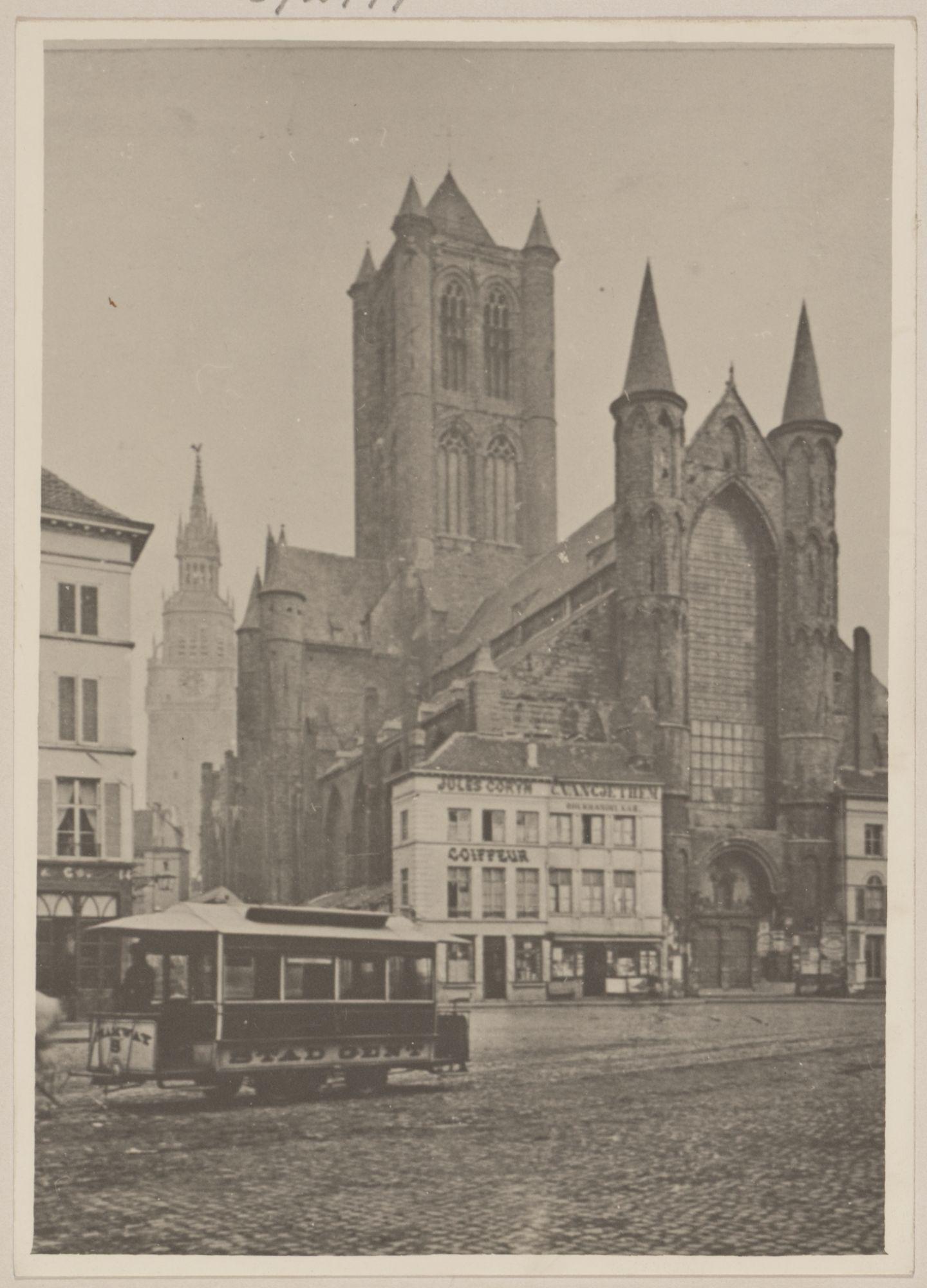 Gent: Sint-Niklaaskerk, Korenmarkt