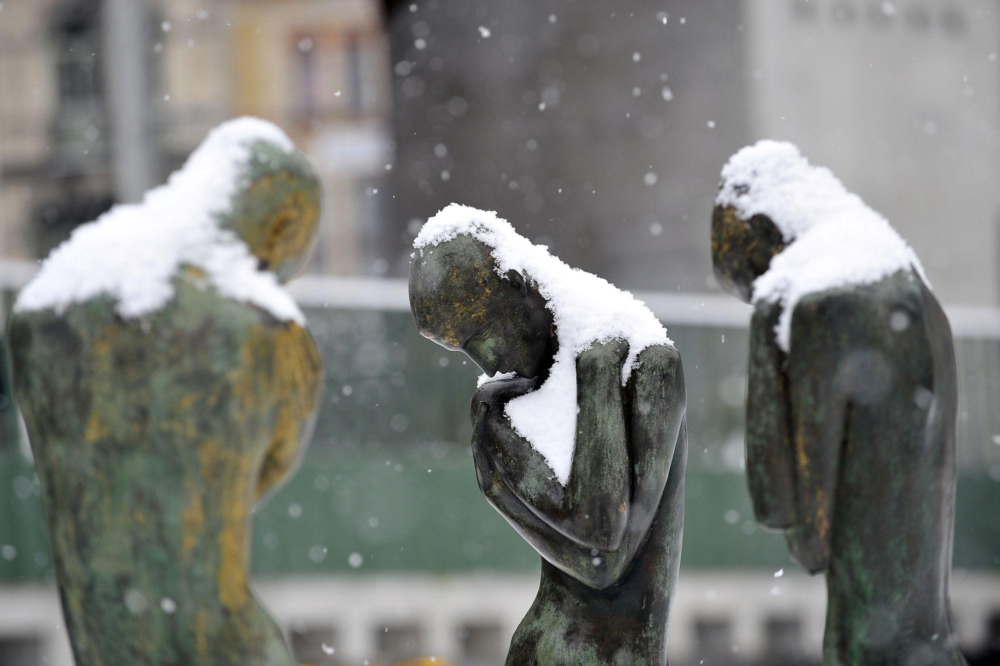 Sneeuw in Gent 19