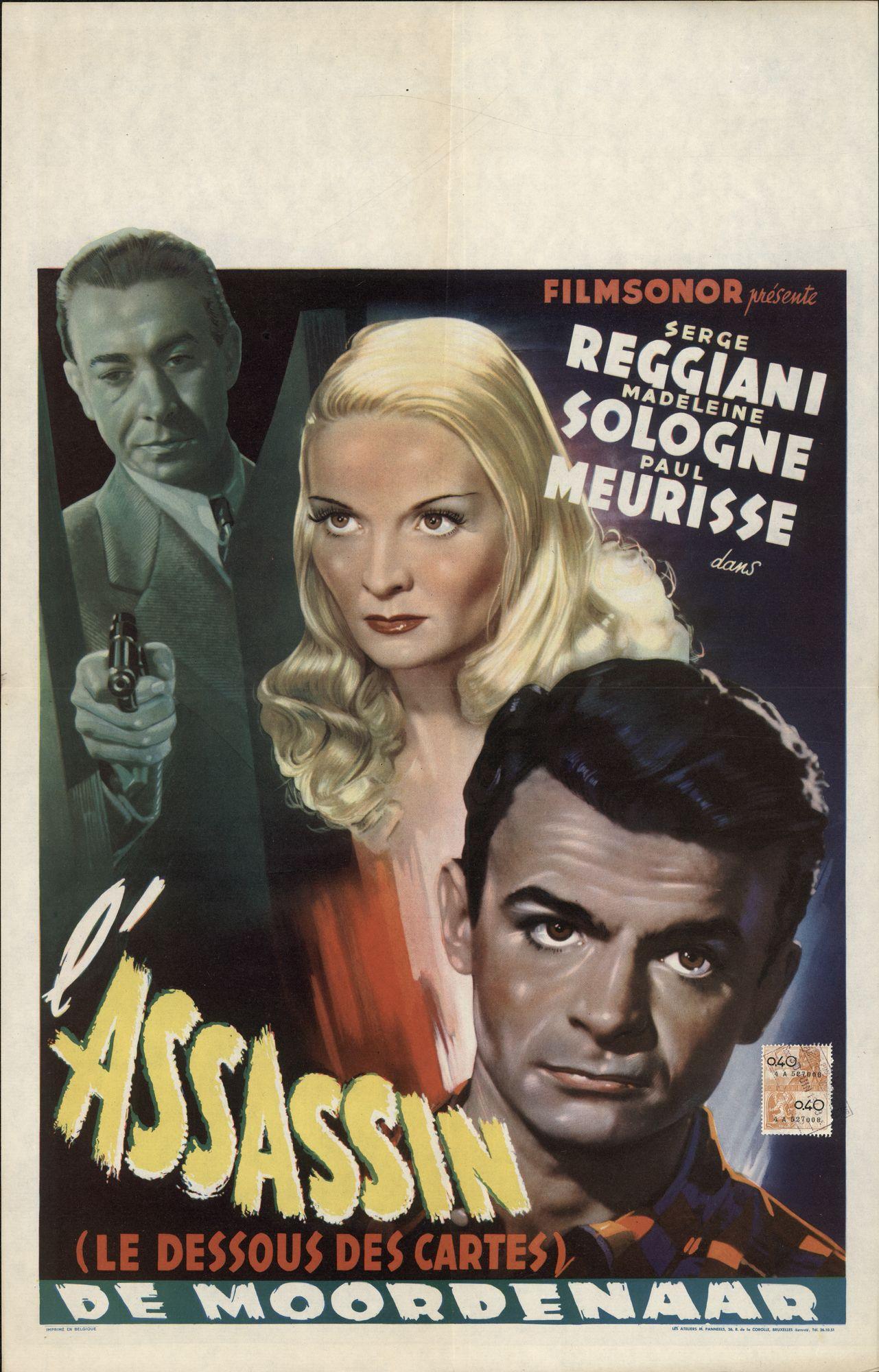 L'Assasin (Le Dessous des Cartes)   De Moordenaar, 1949