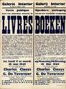 Openbare verkoop van een zeer belangrijke verzameling boeken, Galerij Interior, Brabantdam, nr.42 te Gent, 9 & 10 mei 1949