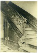 Gent: Trap in het huis Van Eersel aan de Reep. Voorheen kantoren van Lousbergs