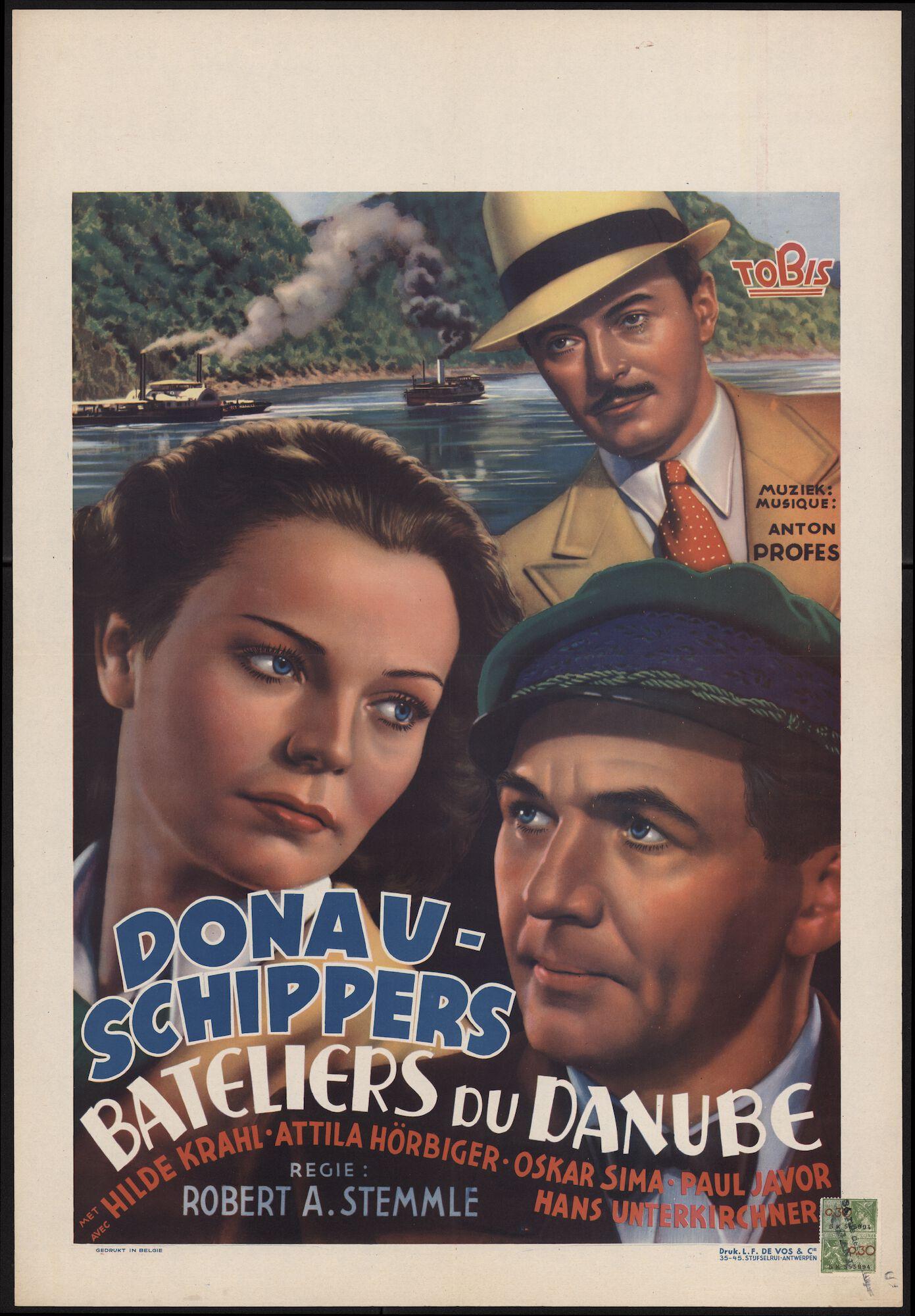 Donau-schippers | Bateliers du Danube, [Majestic], Gent, 1942