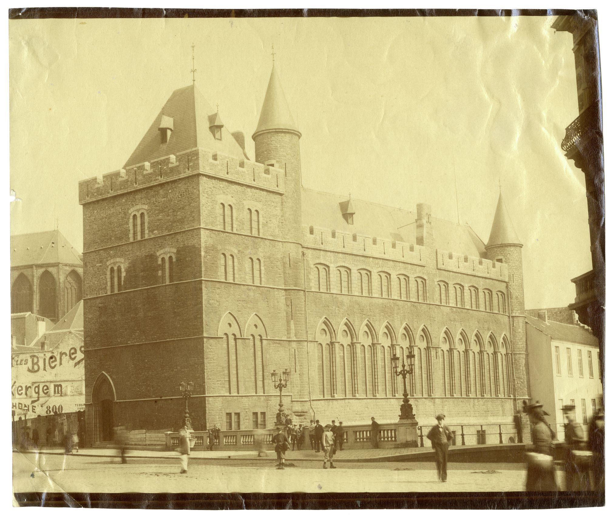 Gent: Geraard de Duivelsteen aan de Nederschelde