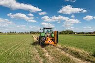 Landbouwlandschap grootschalige open kouter, Afsneekouter vanaf Goedingestraat