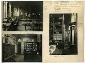 Gent: Ottogracht: Baudeloabdij: Stads- en Universiteitsbibliotheek, 1930