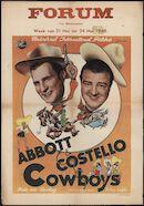 Ride 'Em Cowboy | Cowboys, Forum, Gent, 21- 24 mei 1948