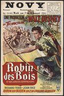 Robin des Bois et ses joyeux compagnons   Robijn der bossen en zijn vrolijke gezellen, Novy, Gent, 2 - 8 januari 1953