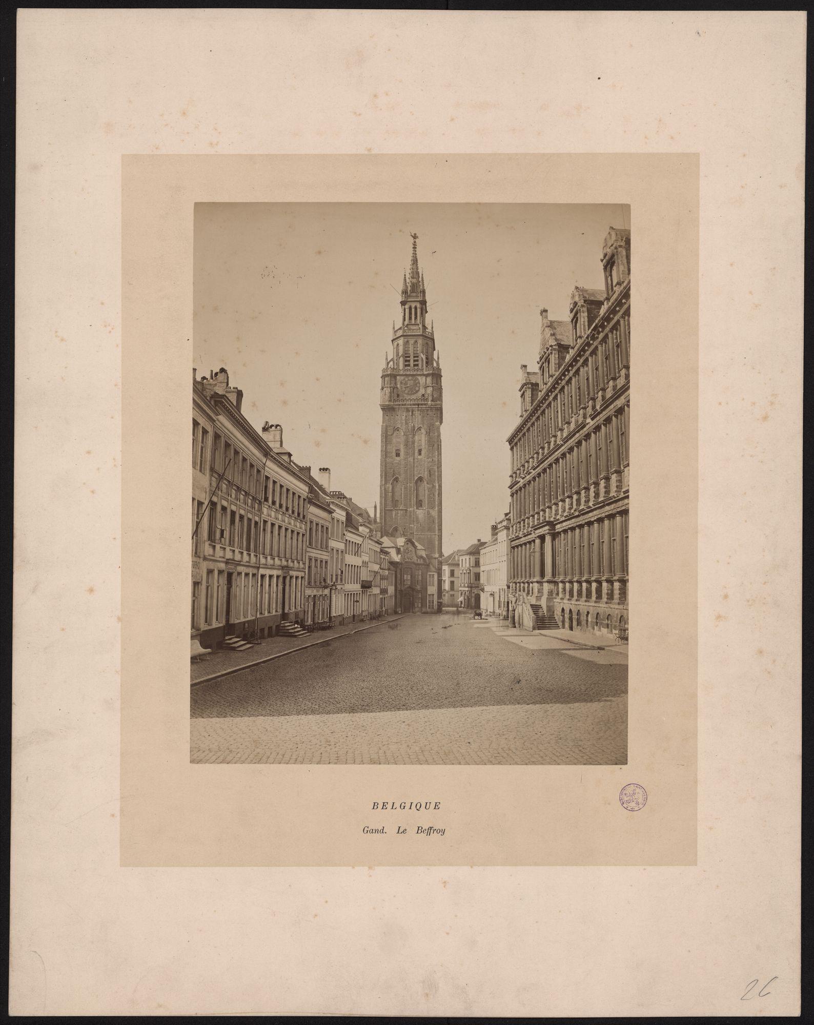 Gent: Belfort met stadhuis