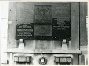Ledeberg: Ledebergplein: Oorlogsgedenkplaat, 1979