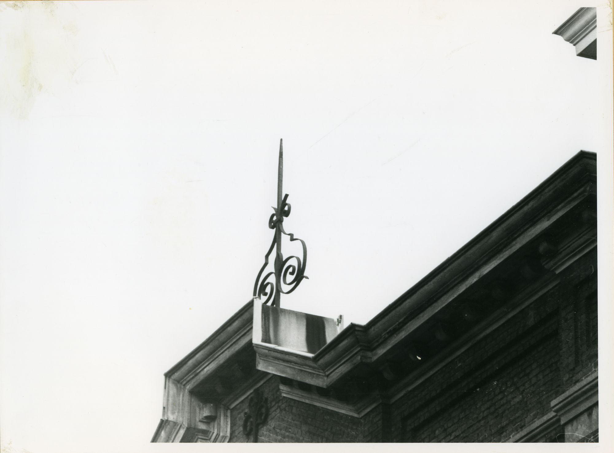 Gent: Nieuwpoort 35: Nokversiering, 1979