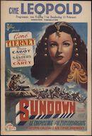 Sundown, Ciné Leopold, Gent, 7 - 13 februari 1947