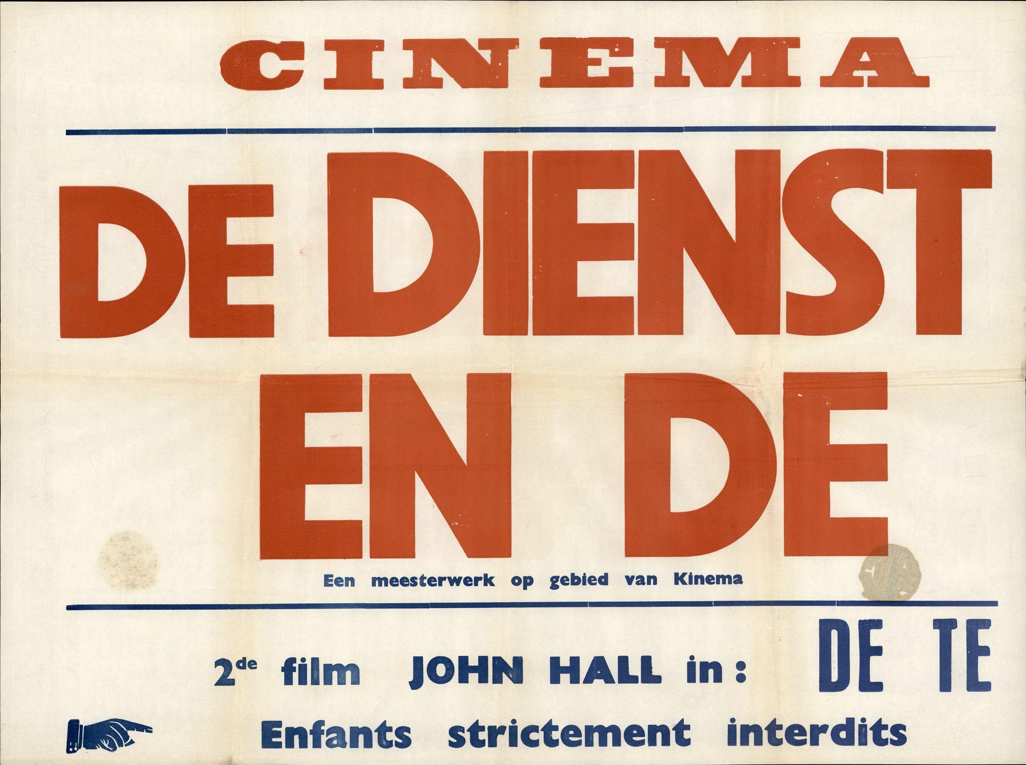 De dienstmaagd en de duivel, Cinema Leopold
