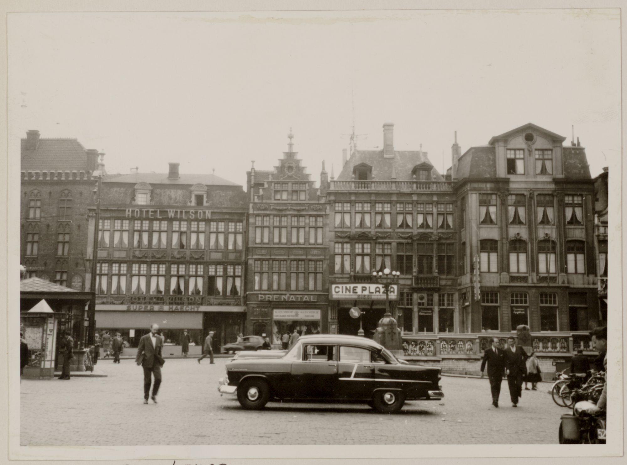 Gent: Korenmarkt en Sint-Michielshelling