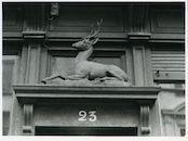 Gent: Oudburg 23: Uithangteken