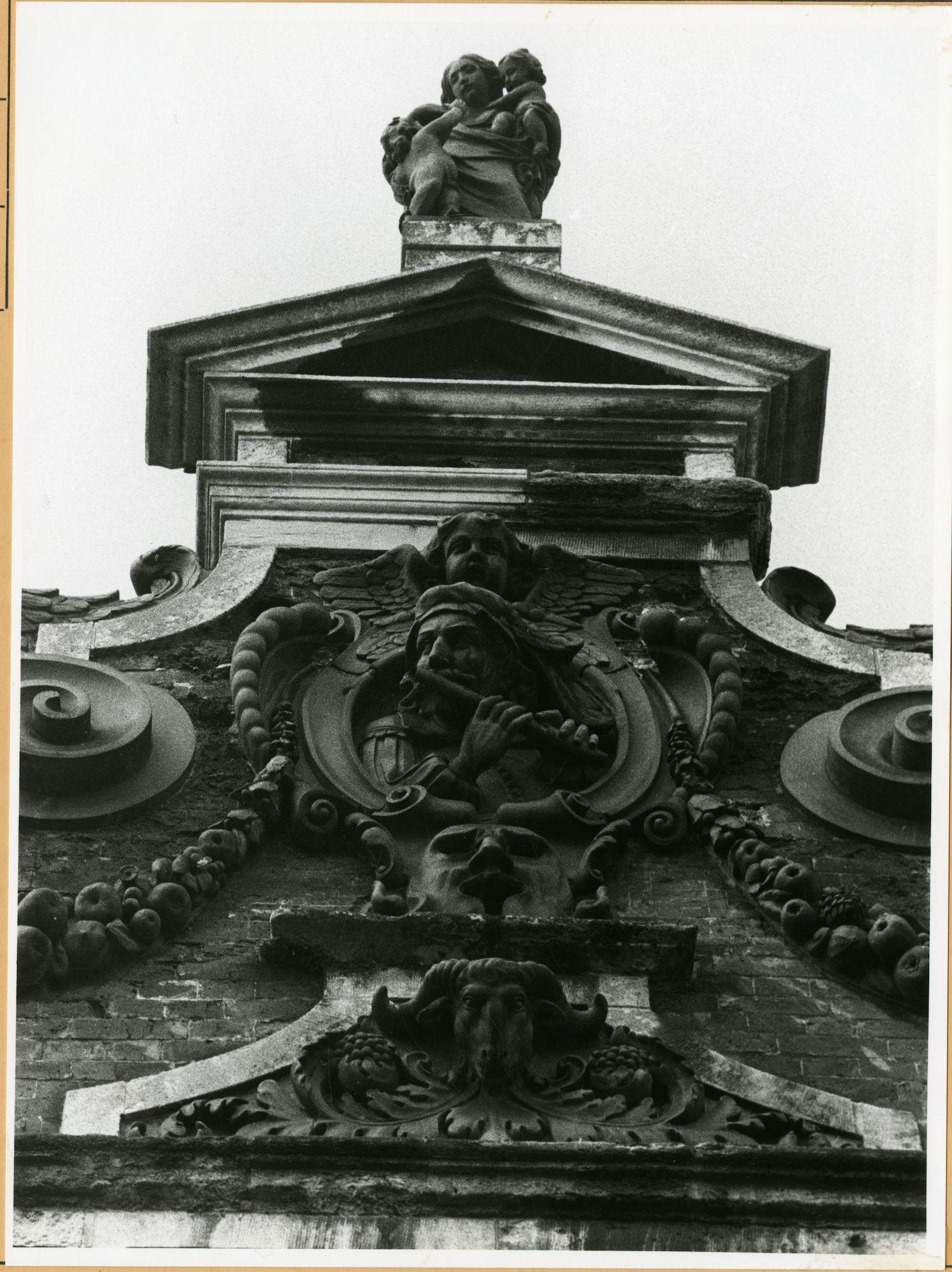Gent: Kraanlei 79: Gevelbeeld