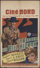 Wild Bill Hickok Rides   Le retour de Bill Hickok   Bill Hickok komt terug, Ciné Nord, Gent, 27 februari - 4 maart 1948