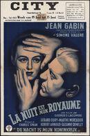 La nuit est mon royaume   De nacht is mijn koninkrijk, City, Gent, 19 - 25 juni 1953