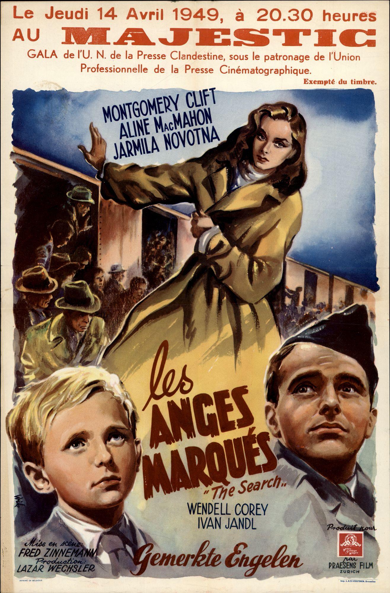 Les Anges Marqués | Gemerkte Engelen | The Searchn, Majestic, Gent, 14 april 1949