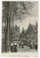 Gent: Sint-Amandsberg: Groot Begijnhof. Bleekweide