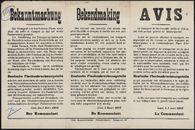 Bekanntmachung | Bekendmaking | Avis.