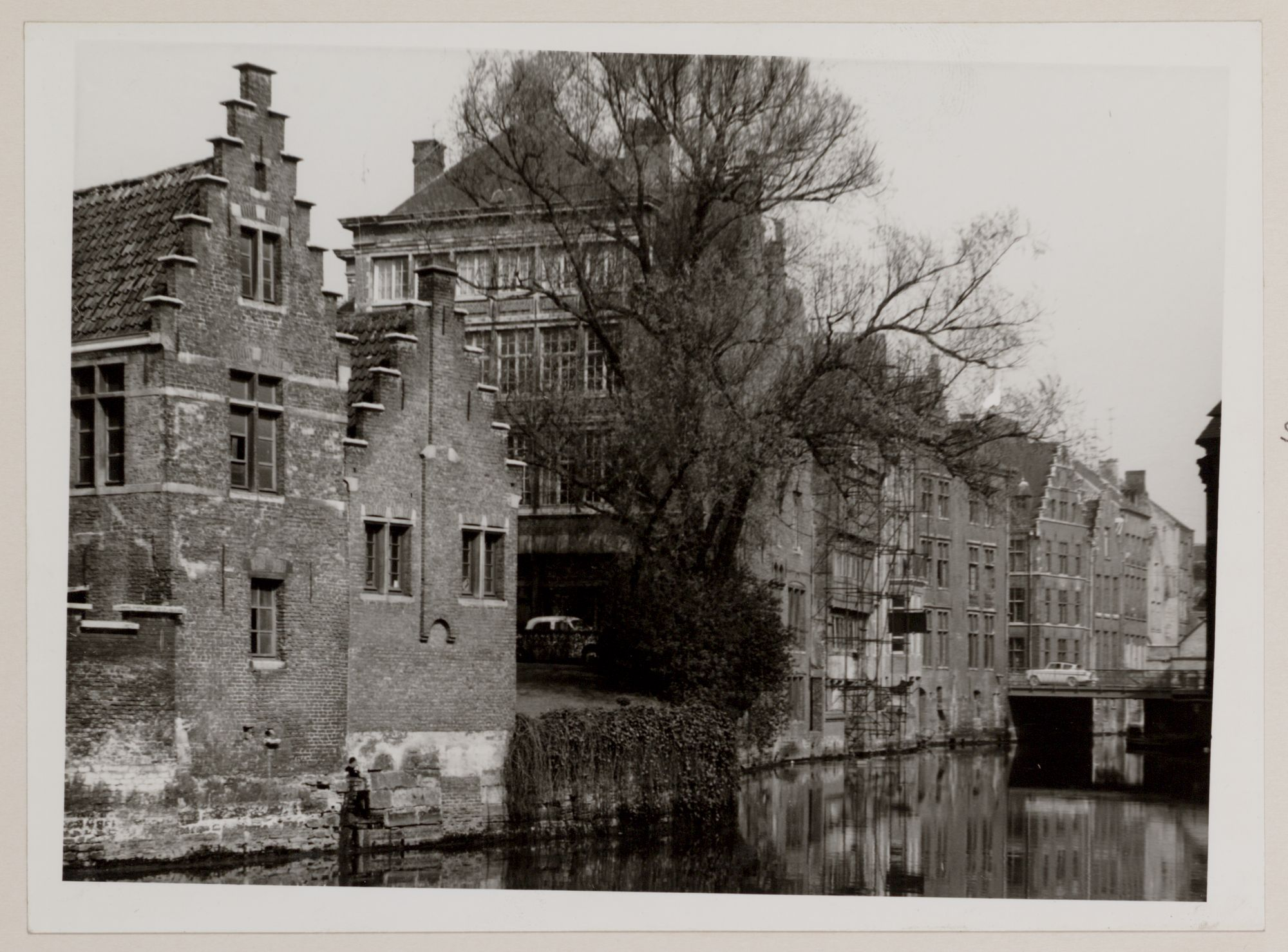 Gent: Gevelrij aan de Lieve