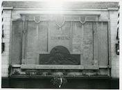 Gent: Sint Salvatorstraat 24: Gedenkteken WOI - II, 1980