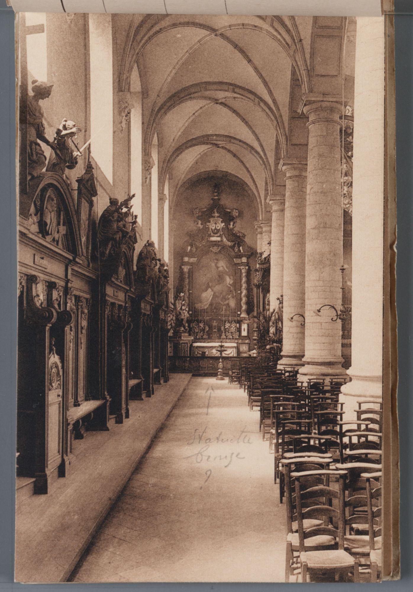 Gent: kerk van de ongeschoeide karmelieten: zijbeuk