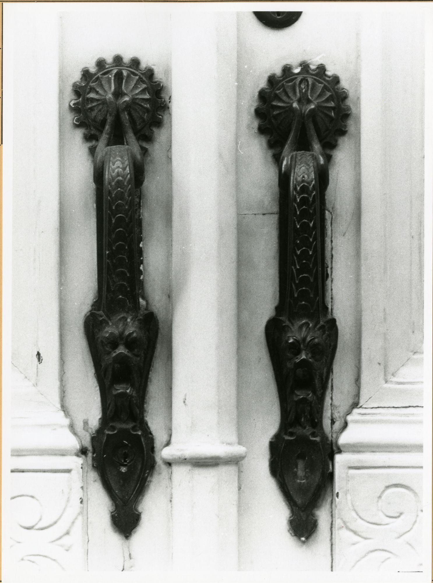 Gent: Koning Leopold II-Laan: Deurgrepen, 1979