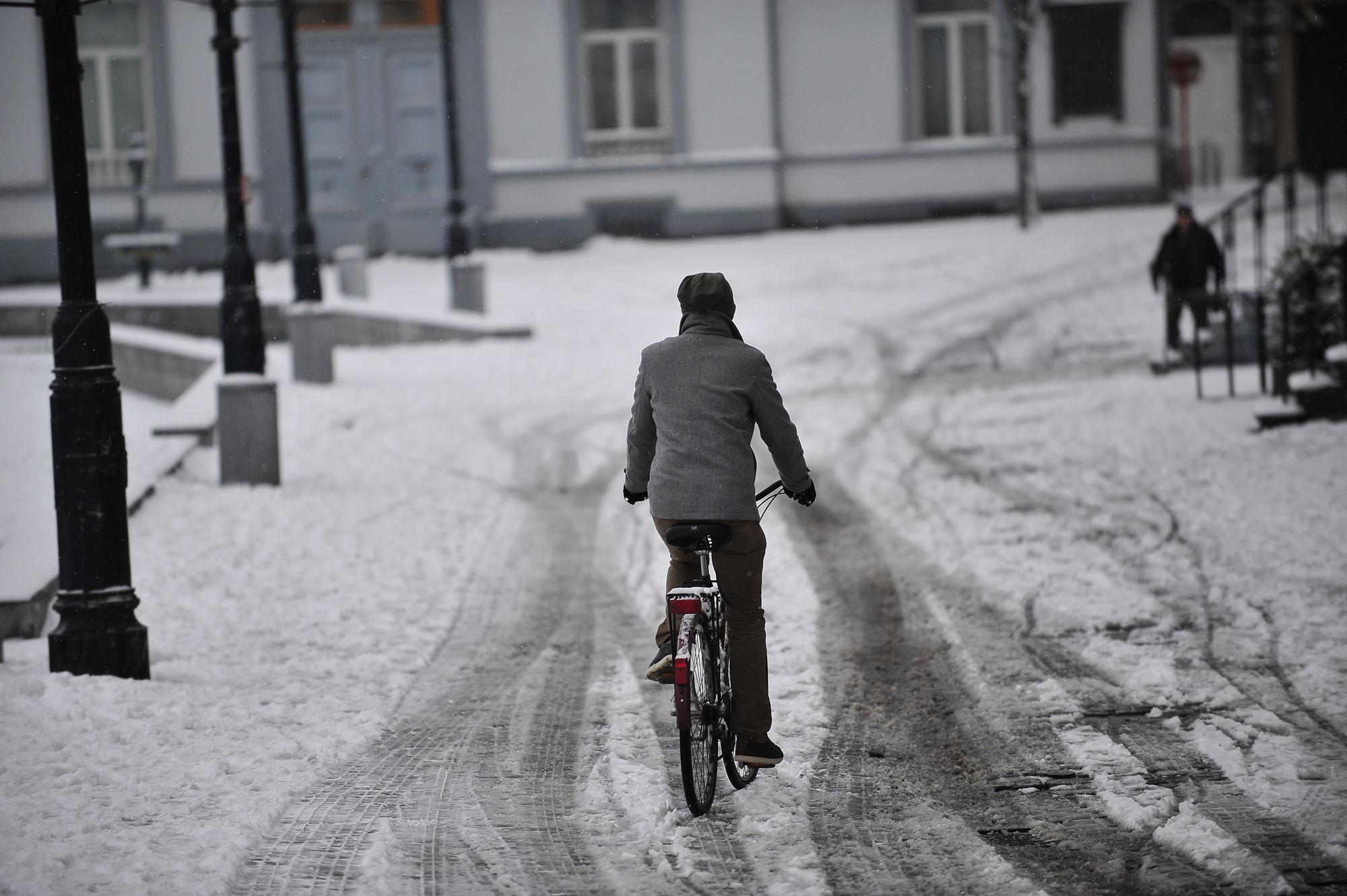 Sneeuw in Gent 08