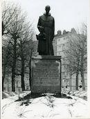 Gent: Fratersplein: Standbeeld