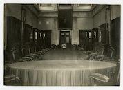 Gent: Koophandelsplein: Justitiepaleis: vergaderzaal van de Etappen-Inspektion (etappe-inspectie), 1915-1916