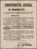 Gemeentebestuur Ledeberg.