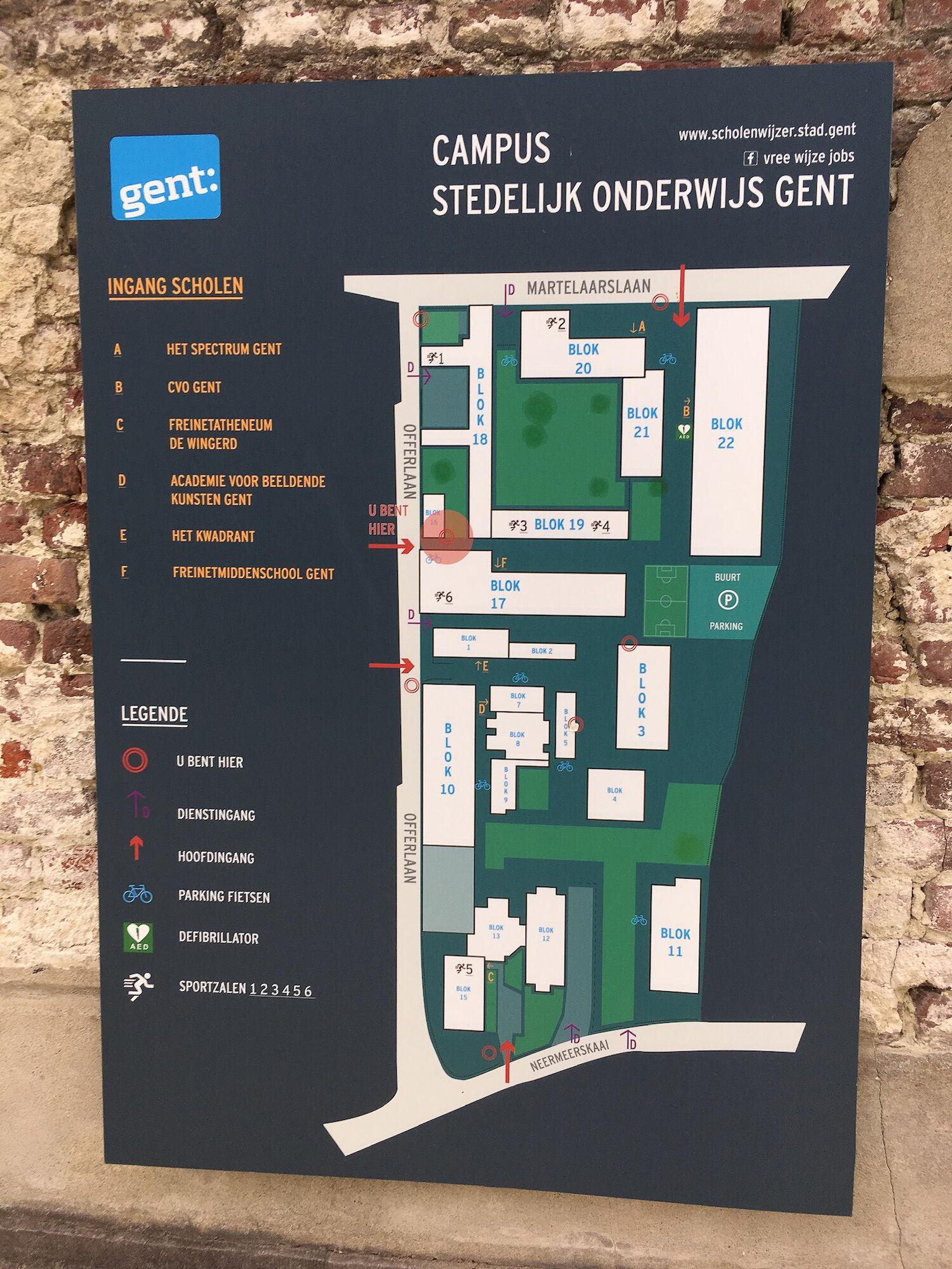 Wijk 05 Watersportbaan-Ekkergem 2019-09-23 Campus Stedelijk Onderwijs