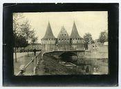 Gent: Opgeëistenlaan 2A en Bachtenwalle: het Rabot aan de Lieve, 1915-1916