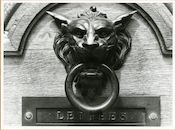 Gent: Hoogstraat 22: Deurgreep, 1979