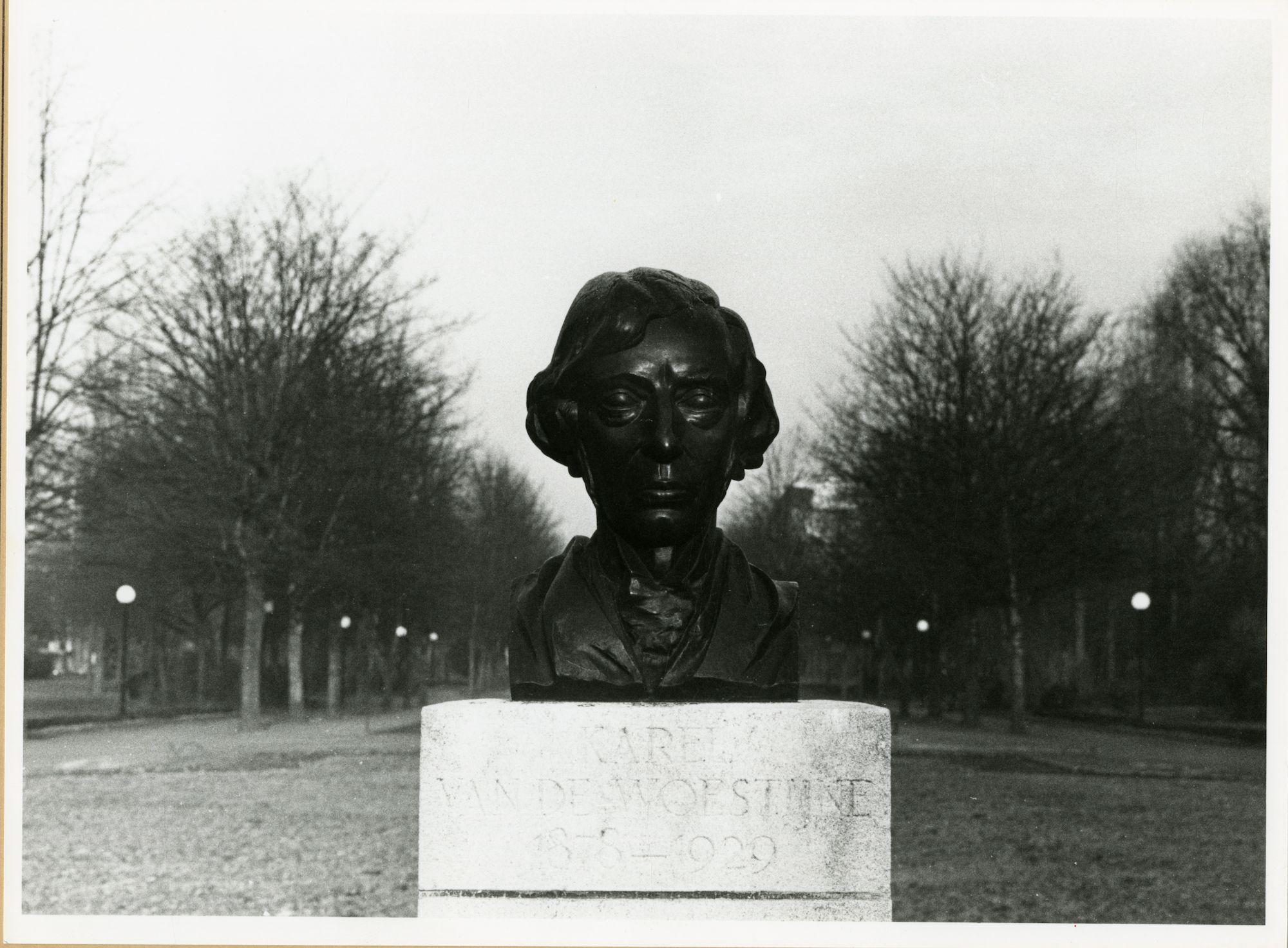 Gent: Koning Albertpark: Borstbeeld