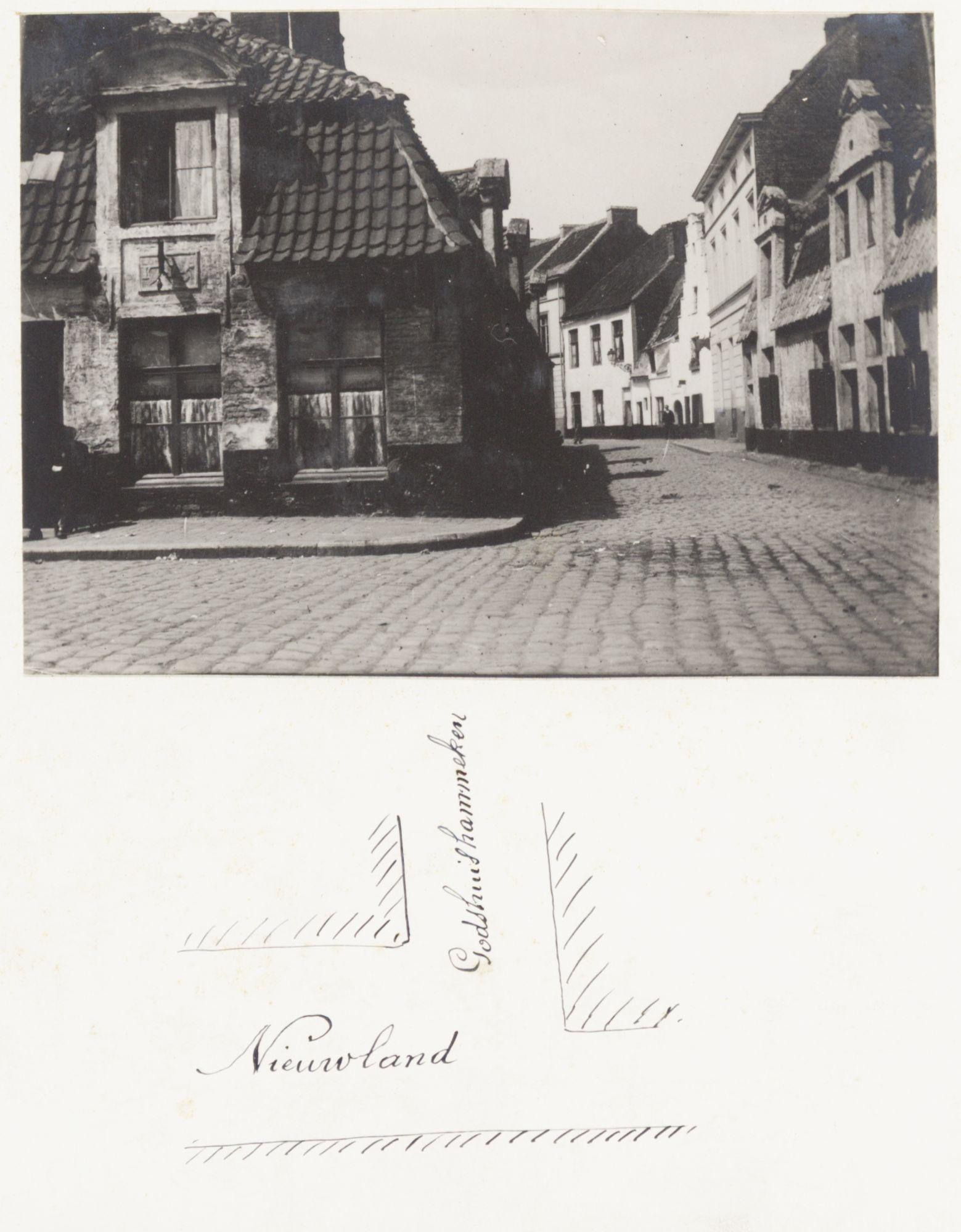 Gent: Hoek Nieuwland en Godshuishammeke