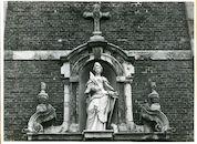 Wondelgem: Kerkdries: Gevelbeeld, 1979